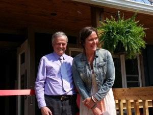 Grand Opening with Dr.Wells and Dana Strength